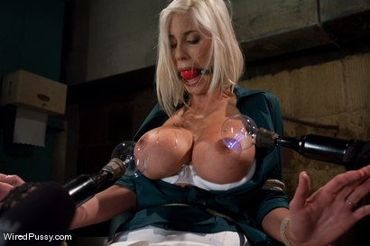 Photo number 1 from Puma Swede: Big Tits, Blonde Hair, and a Bad Attitude shot for Wired Pussy on Kink.com. Featuring Puma Swede, Isis Love and Princess Donna Dolore in hardcore BDSM & Fetish porn.