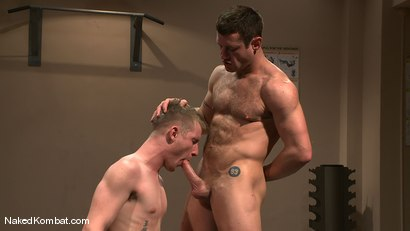 Photo number 13 from Dean Tucker vs Ridge Michaels shot for Naked Kombat on Kink.com. Featuring Dean Tucker and Ridge Michaels in hardcore BDSM & Fetish porn.