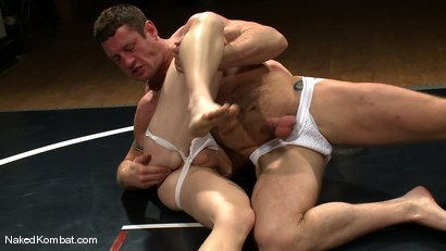 Photo number 3 from Dean Tucker vs Ridge Michaels shot for Naked Kombat on Kink.com. Featuring Dean Tucker and Ridge Michaels in hardcore BDSM & Fetish porn.