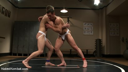 Photo number 4 from Dean Tucker vs Ridge Michaels shot for Naked Kombat on Kink.com. Featuring Dean Tucker and Ridge Michaels in hardcore BDSM & Fetish porn.