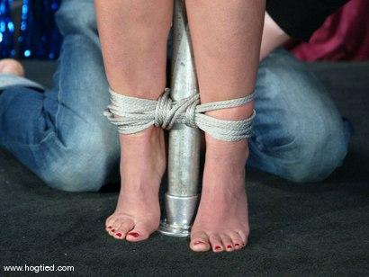 Photo number 14 from Girlie shot for Hogtied on Kink.com. Featuring Girlie in hardcore BDSM & Fetish porn.