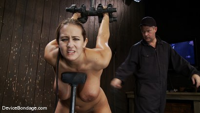 Photo number 3 from Trina Michaels<br> Batter Up! shot for Device Bondage on Kink.com. Featuring Trina Michaels in hardcore BDSM & Fetish porn.