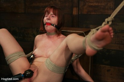 Photo number 4 from Amateur Casting Couch: Chamille shot for Hogtied on Kink.com. Featuring Chamille in hardcore BDSM & Fetish porn.