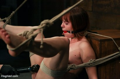 Photo number 5 from Amateur Casting Couch: Chamille shot for Hogtied on Kink.com. Featuring Chamille in hardcore BDSM & Fetish porn.