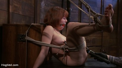 Photo number 9 from Amateur Casting Couch: Chamille shot for Hogtied on Kink.com. Featuring Chamille in hardcore BDSM & Fetish porn.