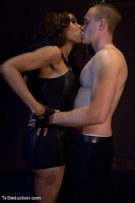 Photo number 1 from Sexy Jade <br> trolling for poling shot for TS Seduction on Kink.com. Featuring Sexy Jade and Rocky in hardcore BDSM & Fetish porn.