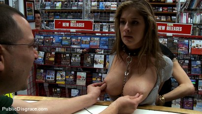 Photo number 8 from Felony is Tied up and Pushed to her Limits in Public shot for Public Disgrace on Kink.com. Featuring Felony and Mr. Pete in hardcore BDSM & Fetish porn.