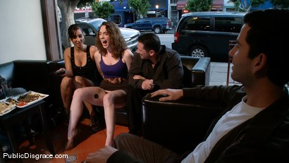 Photo number 2 from Sammy Grand and the Bush shot for Public Disgrace on Kink.com. Featuring John Strong, Isis Love and Sammy Grand in hardcore BDSM & Fetish porn.