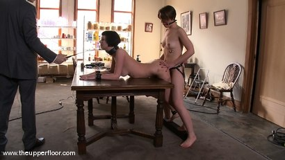 Photo number 10 from Service Session: Preparing Shevon for Review shot for The Upper Floor on Kink.com. Featuring Cherry Torn and Sarah Shevon in hardcore BDSM & Fetish porn.
