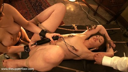 Photo number 13 from Shevon's Review shot for The Upper Floor on Kink.com. Featuring Cherry Torn and Sarah Shevon in hardcore BDSM & Fetish porn.