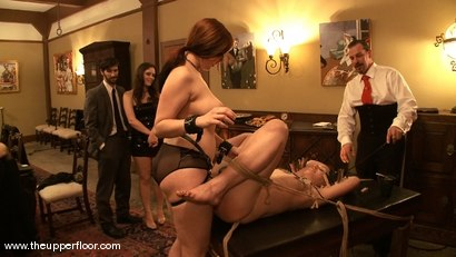Photo number 14 from Shevon's Review shot for The Upper Floor on Kink.com. Featuring Cherry Torn and Sarah Shevon in hardcore BDSM & Fetish porn.