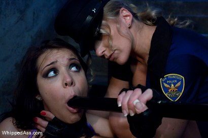 Photo number 6 from Bitch Cops shot for Whipped Ass on Kink.com. Featuring Felony, Beverly Hills and Dia Zerva in hardcore BDSM & Fetish porn.
