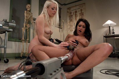 Photo number 11 from Lorelei Lee, Charley Chase <br> medical foreplay, squirting machine sex, messy nurses shot for Fucking Machines on Kink.com. Featuring Charley Chase, Lorelei Lee and Cherry Torn in hardcore BDSM & Fetish porn.