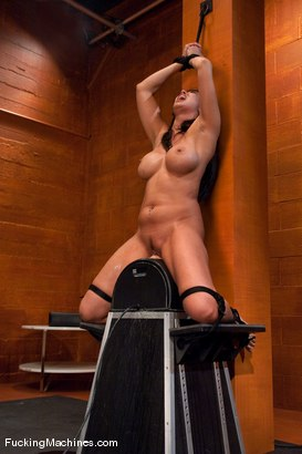 Photo number 15 from Isis Love <br> bound to the Sybian, squirting puddles shot for Fucking Machines on Kink.com. Featuring Isis Love in hardcore BDSM & Fetish porn.
