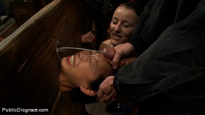 Photo number 14 from Tia Ling shot for Public Disgrace on Kink.com. Featuring Tia Ling, Nat Turnher and Brian Pumper in hardcore BDSM & Fetish porn.