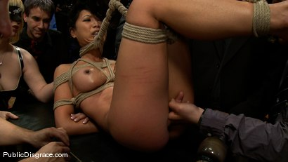 Photo number 4 from Tia Ling shot for Public Disgrace on Kink.com. Featuring Tia Ling, Nat Turnher and Brian Pumper in hardcore BDSM & Fetish porn.
