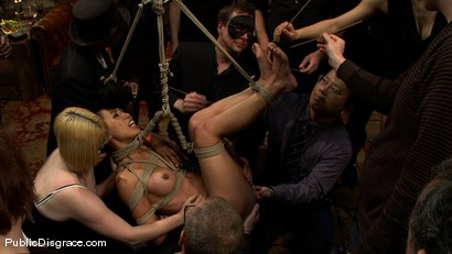 Photo number 3 from Tia Ling shot for Public Disgrace on Kink.com. Featuring Tia Ling, Nat Turnher and Brian Pumper in hardcore BDSM & Fetish porn.
