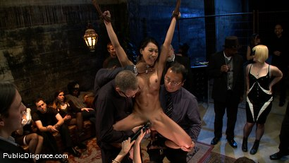 Photo number 1 from Tia Ling shot for Public Disgrace on Kink.com. Featuring Tia Ling, Nat Turnher and Brian Pumper in hardcore BDSM & Fetish porn.