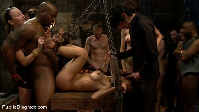 Photo number 13 from Tia Ling shot for Public Disgrace on Kink.com. Featuring Tia Ling, Nat Turnher and Brian Pumper in hardcore BDSM & Fetish porn.