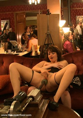 Photo number 1 from Thin Line Between Art and Sex shot for The Upper Floor on Kink.com. Featuring Cherry Torn in hardcore BDSM & Fetish porn.
