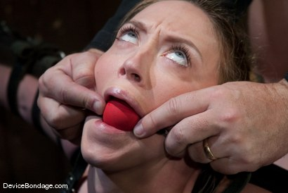 Photo number 5 from Darling   Figurehead shot for Device Bondage on Kink.com. Featuring Dee Williams in hardcore BDSM & Fetish porn.