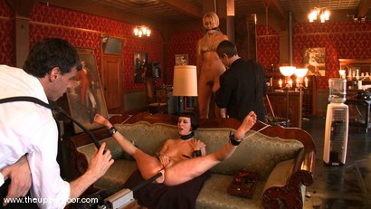 Photo number 12 from Service Session: Fresh Meat shot for The Upper Floor on Kink.com. Featuring Cherry Torn, Sarah Shevon and Mallory Rae Murphy in hardcore BDSM & Fetish porn.