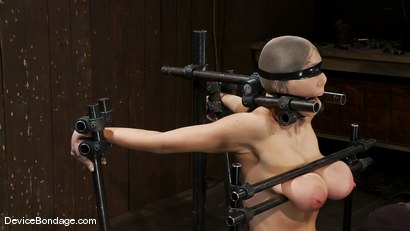 Photo number 10 from Alia Janine <br>34FF. That's all I have to say about that. shot for Device Bondage on Kink.com. Featuring Alia Janine in hardcore BDSM & Fetish porn.