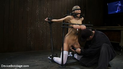 Photo number 11 from Alia Janine <br>34FF. That's all I have to say about that. shot for Device Bondage on Kink.com. Featuring Alia Janine in hardcore BDSM & Fetish porn.