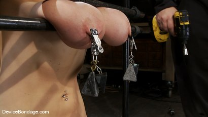 Photo number 4 from Alia Janine <br>34FF. That's all I have to say about that. shot for Device Bondage on Kink.com. Featuring Alia Janine in hardcore BDSM & Fetish porn.