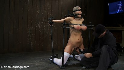 Photo number 6 from Alia Janine <br>34FF. That's all I have to say about that. shot for Device Bondage on Kink.com. Featuring Alia Janine in hardcore BDSM & Fetish porn.