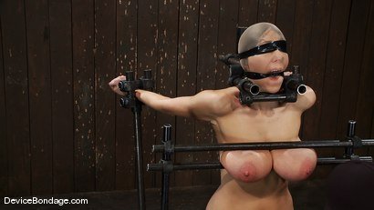 Photo number 8 from Alia Janine <br>34FF. That's all I have to say about that. shot for Device Bondage on Kink.com. Featuring Alia Janine in hardcore BDSM & Fetish porn.