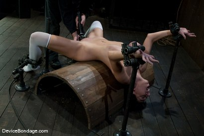 Photo number 10 from Alia Janine <br> Huge Honking Tits shot for Device Bondage on Kink.com. Featuring Alia Janine in hardcore BDSM & Fetish porn.