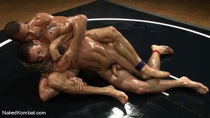 Photo number 7 from DJ vs Daniel Star <br> The Oil Match shot for Naked Kombat on Kink.com. Featuring DJ and Daniel Star in hardcore BDSM & Fetish porn.