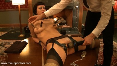 Photo number 4 from Service Session: Rossi's First Day shot for The Upper Floor on Kink.com. Featuring Cherry Torn and Bella Rossi in hardcore BDSM & Fetish porn.
