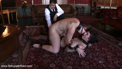 Photo number 12 from Service Session: Pleasure Gambit shot for The Upper Floor on Kink.com. Featuring Cherry Torn and Bella Rossi in hardcore BDSM & Fetish porn.