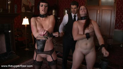 Photo number 3 from Service Session: Pleasure Gambit shot for The Upper Floor on Kink.com. Featuring Cherry Torn and Bella Rossi in hardcore BDSM & Fetish porn.