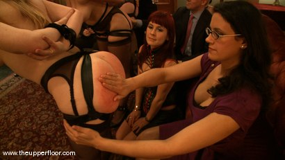 Photo number 7 from Big Ass Friday shot for The Upper Floor on Kink.com. Featuring Cherry Torn, Bella Rossi, Madison Young, Nerine Mechanique and Hollie Stevens in hardcore BDSM & Fetish porn.