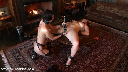 Photo number 9 from Service Session: Art Slut shot for The Upper Floor on Kink.com. Featuring Cherry Torn and Bella Rossi in hardcore BDSM & Fetish porn.
