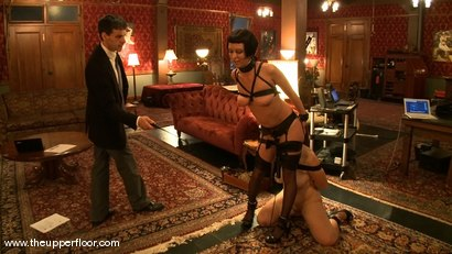 Photo number 14 from Service Session: Art Slut shot for The Upper Floor on Kink.com. Featuring Cherry Torn and Bella Rossi in hardcore BDSM & Fetish porn.