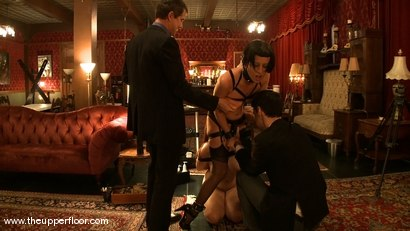 Photo number 15 from Service Session: Art Slut shot for The Upper Floor on Kink.com. Featuring Cherry Torn and Bella Rossi in hardcore BDSM & Fetish porn.