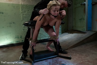 Photo number 10 from The Training of Sasha Knox, Day Three shot for The Training Of O on Kink.com. Featuring Sasha Knox and Maestro in hardcore BDSM & Fetish porn.