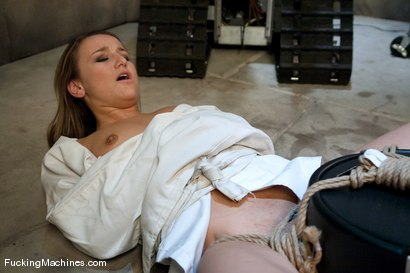 Photo number 14 from Jessie Cox <br> Robot fucking and Sybian treatment shot for Fucking Machines on Kink.com. Featuring Jessie Cox in hardcore BDSM & Fetish porn.