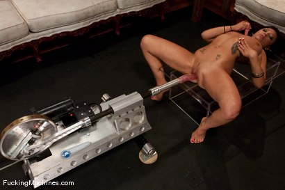 Photo number 12 from Halie James <br> big tits, little waist shot for Fucking Machines on Kink.com. Featuring Halie James in hardcore BDSM & Fetish porn.