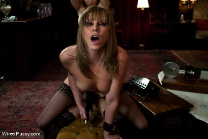 Photo number 13 from Maid Humiliation shot for Wired Pussy on Kink.com. Featuring Maitresse Madeline Marlowe , Aiden Starr, Ashley Fires and Jessie Cox in hardcore BDSM & Fetish porn.