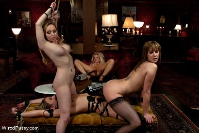 Photo number 11 from Maid Humiliation shot for Wired Pussy on Kink.com. Featuring Maitresse Madeline Marlowe , Aiden Starr, Ashley Fires and Jessie Cox in hardcore BDSM & Fetish porn.