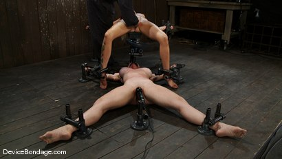 Photo number 14 from Someone has a squirting problem<br> Someone has a drinking problem shot for Device Bondage on Kink.com. Featuring Rain DeGrey and Dee Williams in hardcore BDSM & Fetish porn.