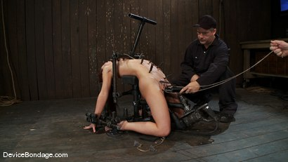 Photo number 11 from AnnaBelle Lee<br> Alpha fucks another girl into subspace.. shot for Device Bondage on Kink.com. Featuring AnnaBelle Lee in hardcore BDSM & Fetish porn.