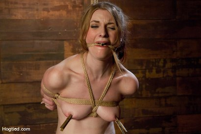 Photo number 7 from More Please, Sir - Ela Darling shot for Hogtied on Kink.com. Featuring Ela Darling in hardcore BDSM & Fetish porn.