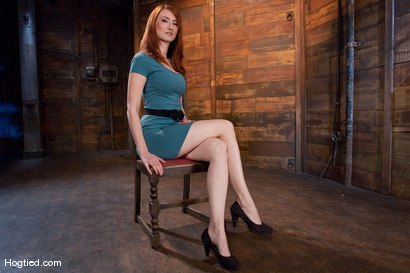 Photo number 2 from Kendra James<br>Sophistication  shot for Hogtied on Kink.com. Featuring Kendra James in hardcore BDSM & Fetish porn.