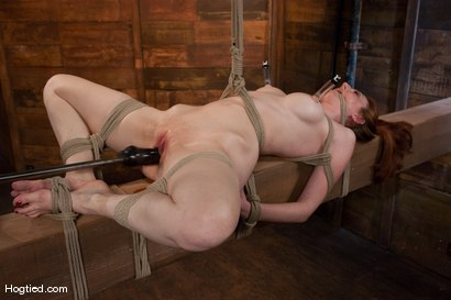 Photo number 11 from Kendra James<br>Sophistication  shot for Hogtied on Kink.com. Featuring Kendra James in hardcore BDSM & Fetish porn.